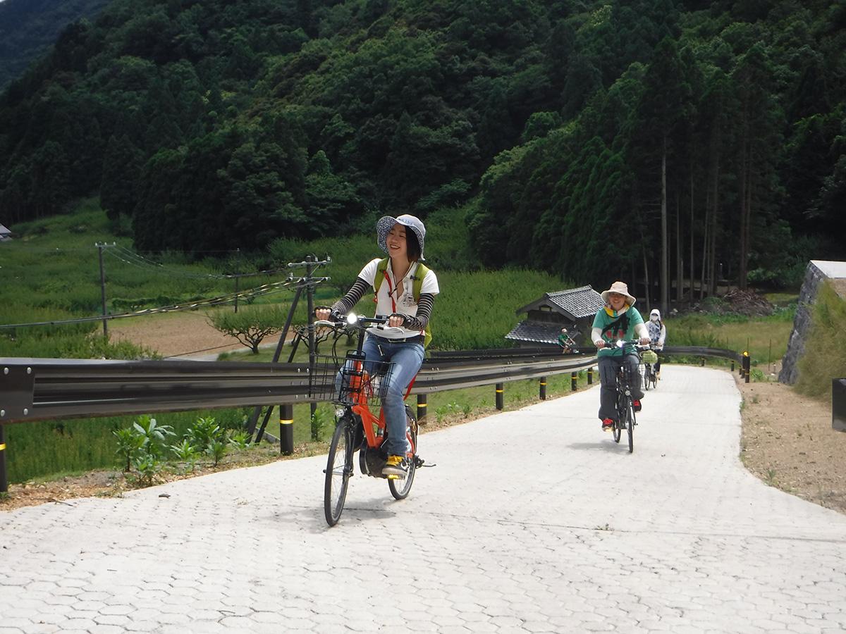 電動アシスト自転車 梅丈岳