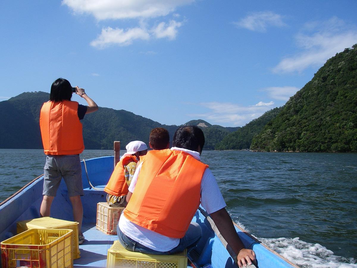 三方五湖 天然うなぎ漁