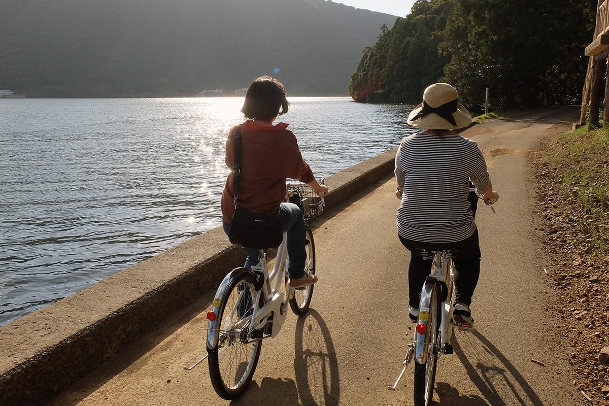 三方五湖サイクリング