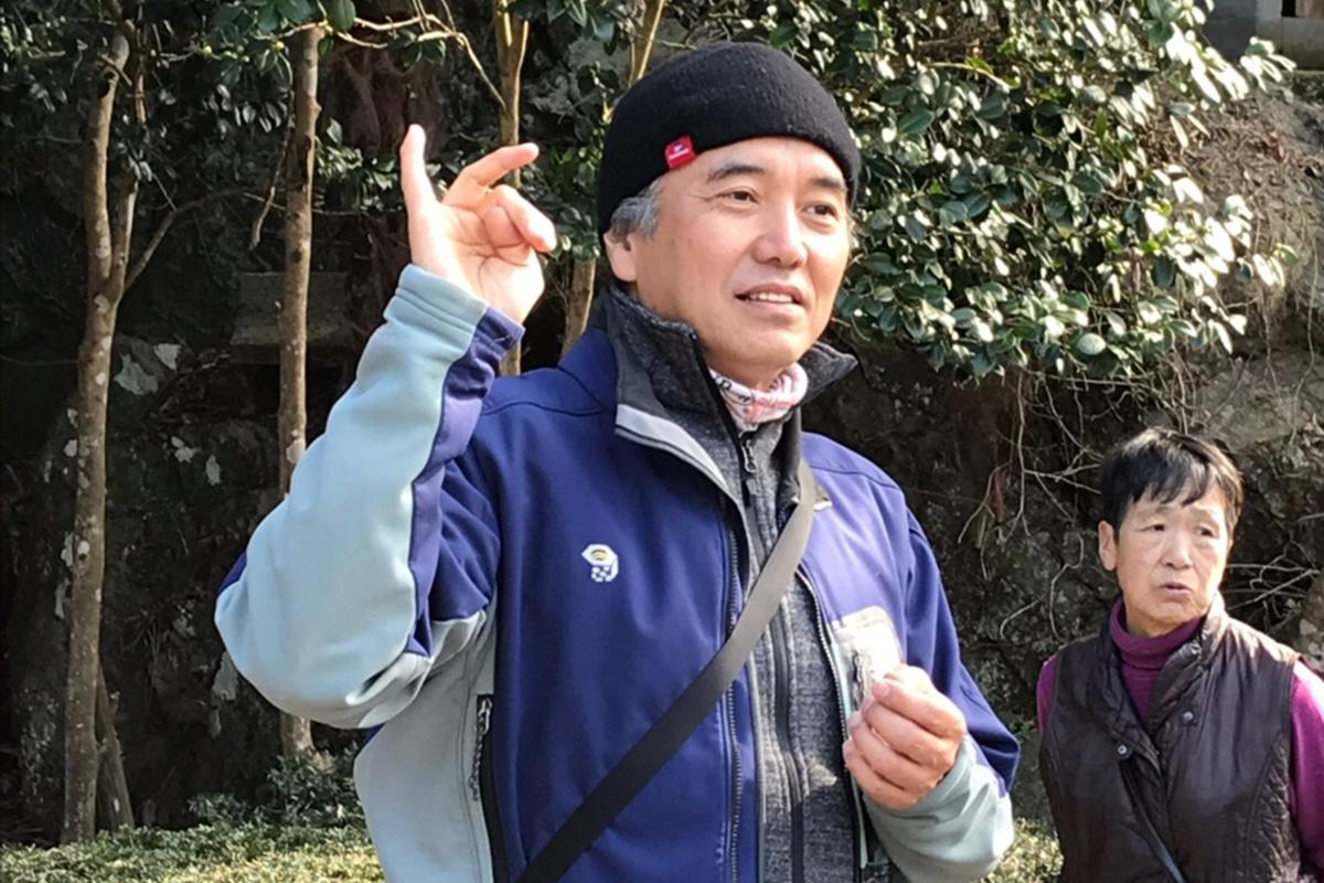 ガイド内田氏